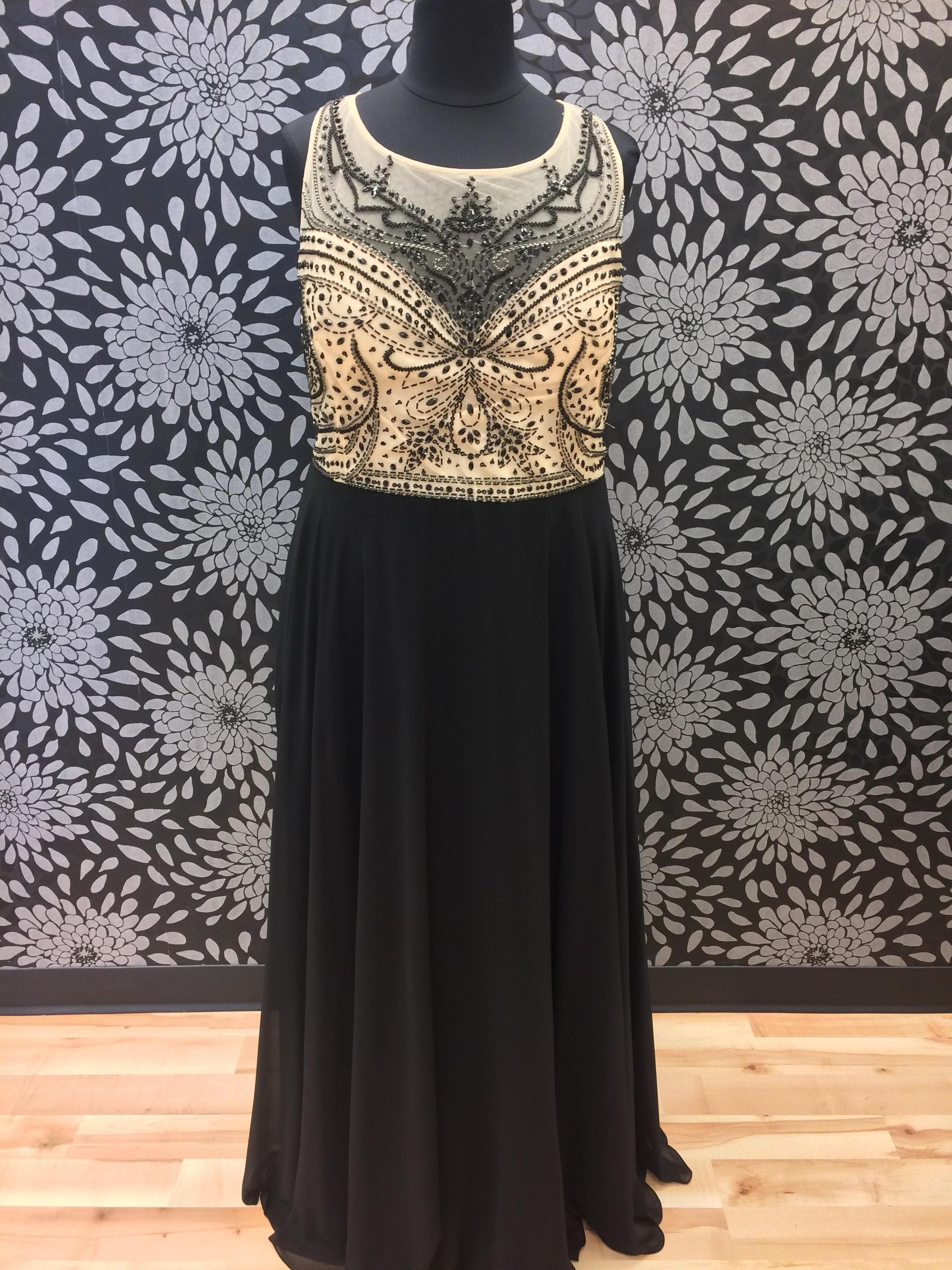 Plus size black and gold prom dress products pinterest gold