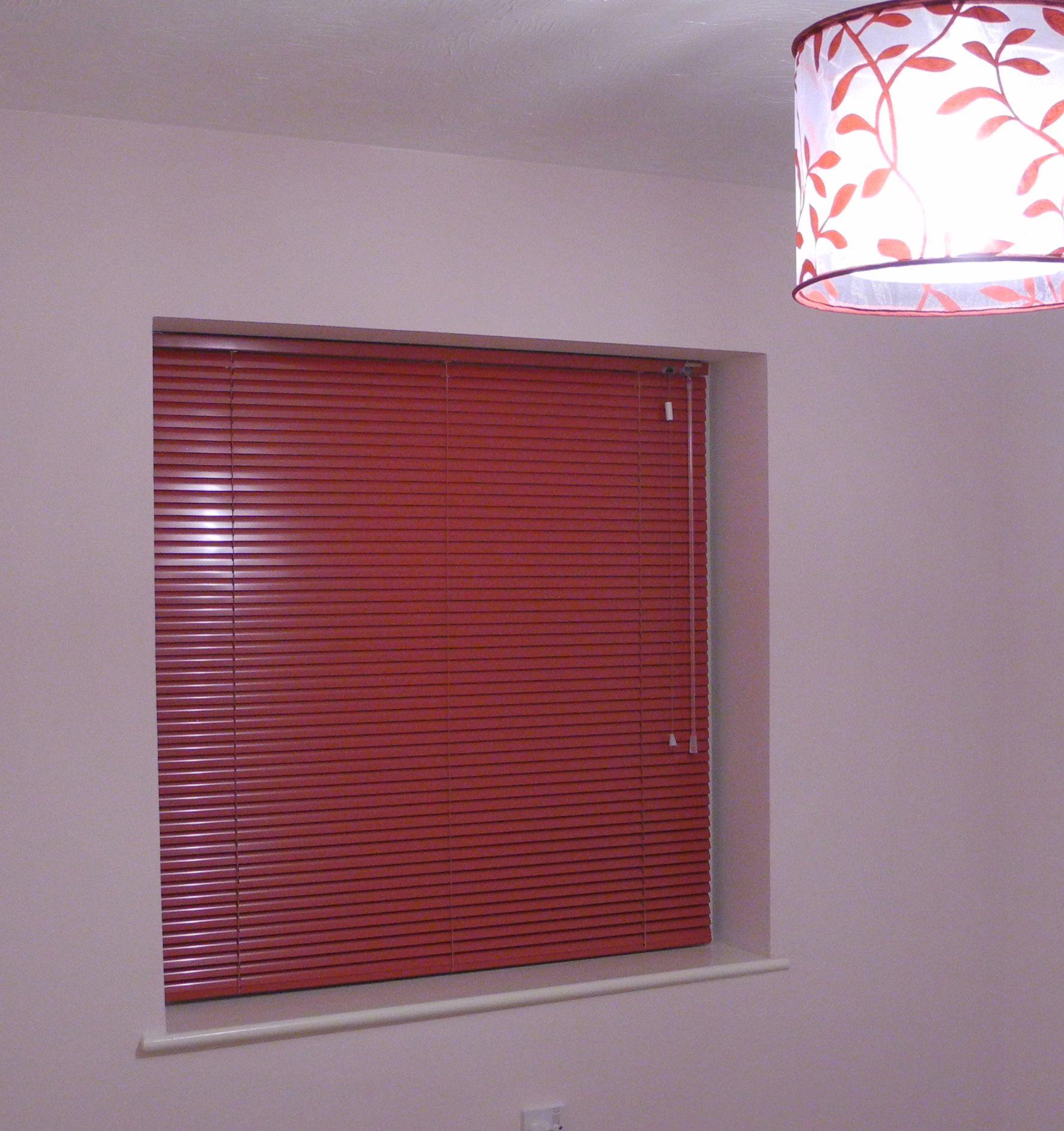 Aluminium venetian blinds color Flieder It looks a few different