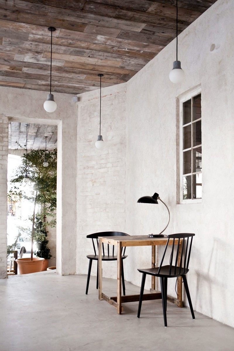 Host Restaurant Rustic Scandinavian Interior By Norm Architects Home Home Decor Design