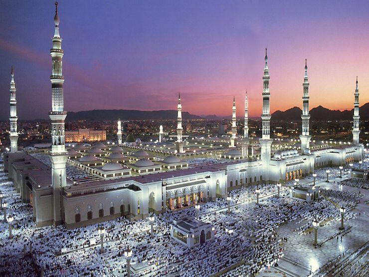 Mosque Medina - Saudi Arabia 1994