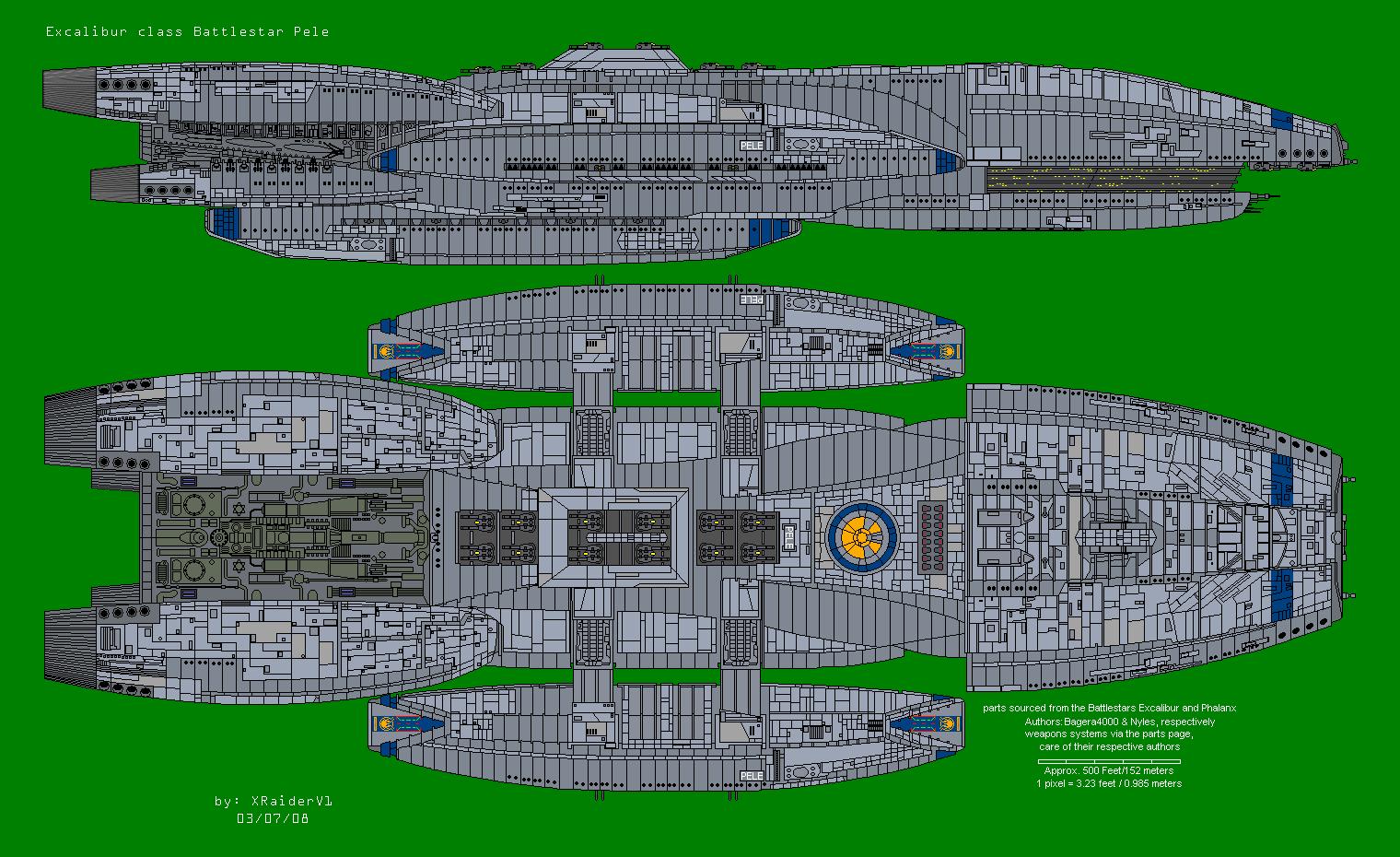 Battlestar Pele by XRaiderV1 on DeviantArt