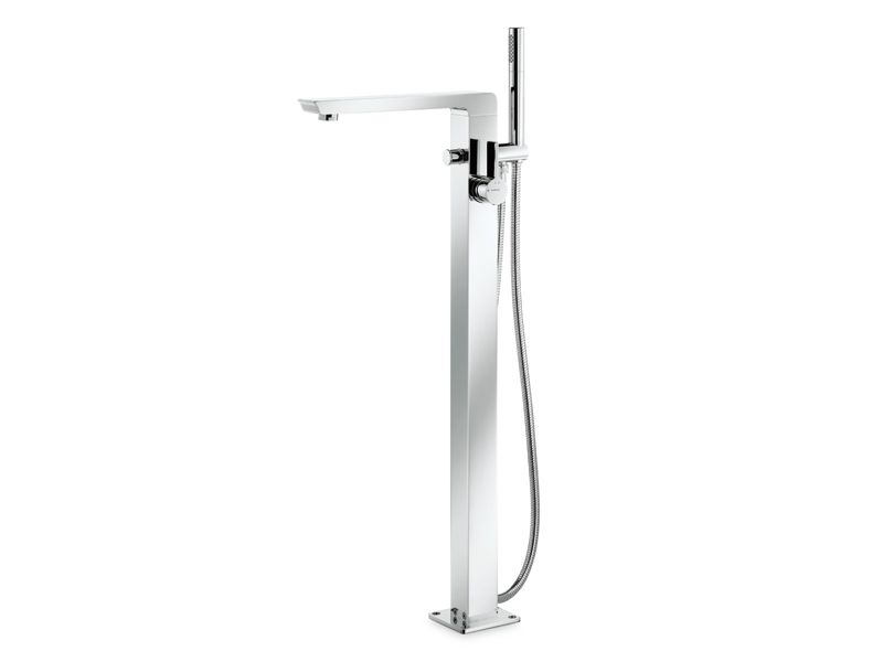 LIBERA Miscelatore per vasca da terra by #NEWFORM #bath #design ...