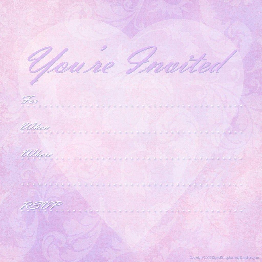 Free Printable Valentine Party Invitations Graduation