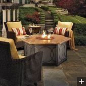 Photo of cozy firepit backyard  #backyard #firepit#fashiontrends #fashionformen #fashionw…