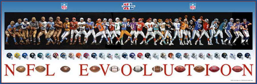 7d8b8461 NFL Evolution evolution of football uniforms quarterback passing ...