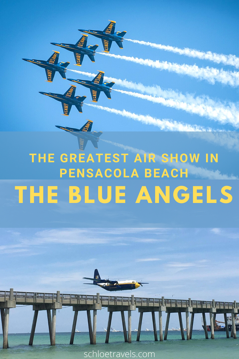 The Greatest Air Show in Pensacola Beach The Blue Angels