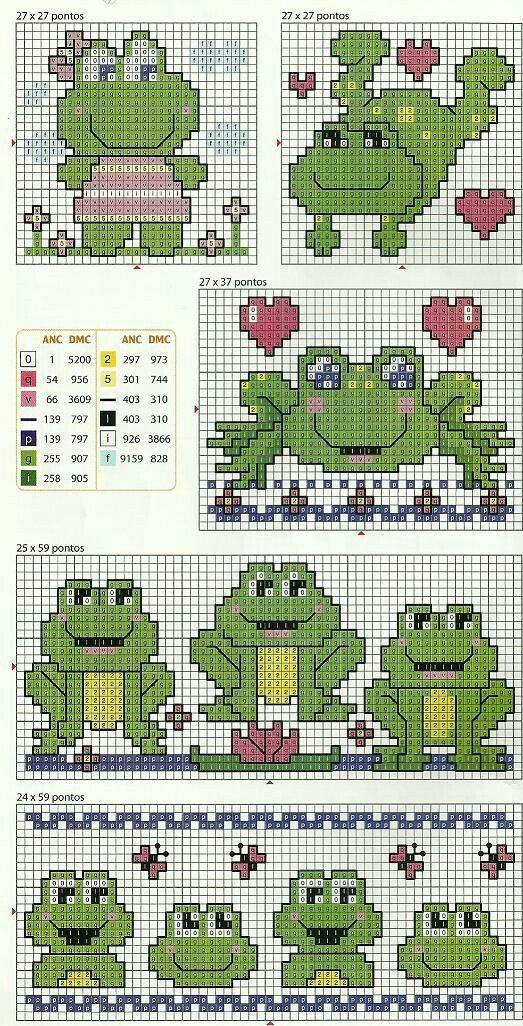 Pin von Sherry Glover auf Knit Charts_Cross Stitch Charts ...