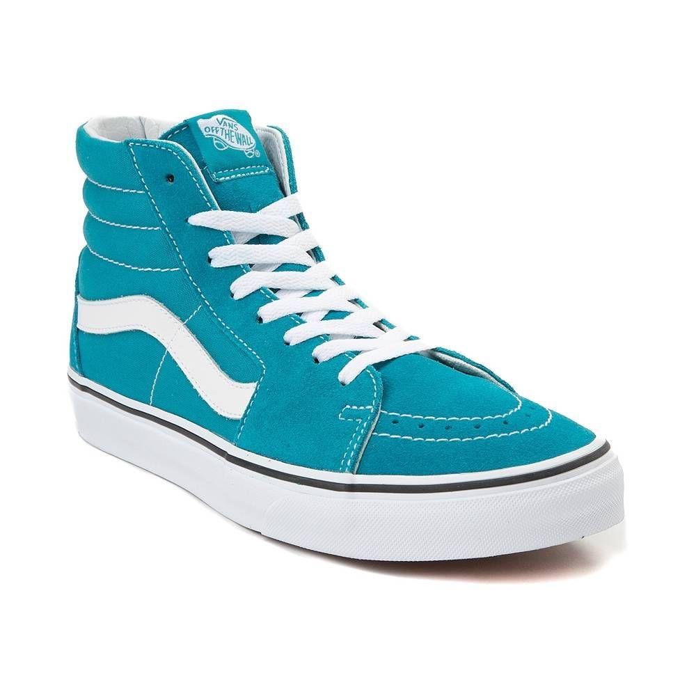 Vans Sk8 Hi Skate Shoe Turquoise 497268 | Vans sk8