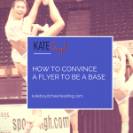 How to convince a flyer to be a base