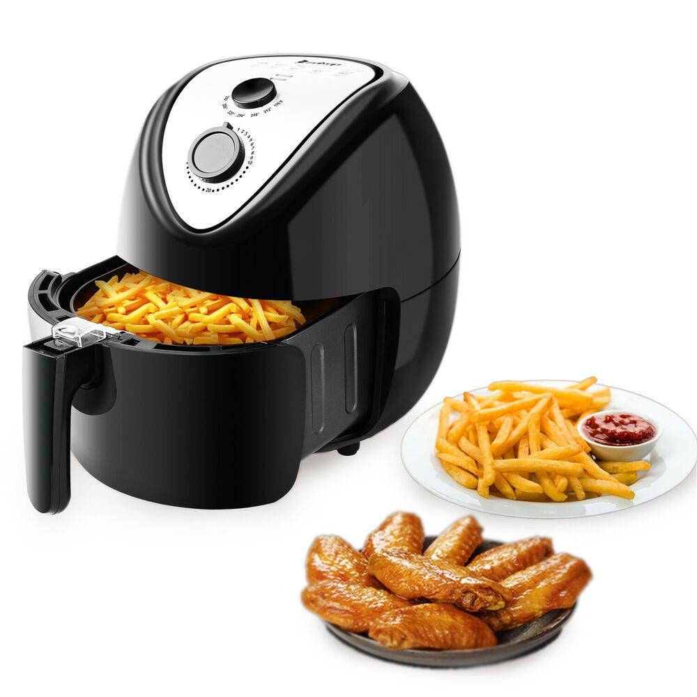 Ebay Sponsored Zokop 5 3l Electric Deep Air Fryer Oil