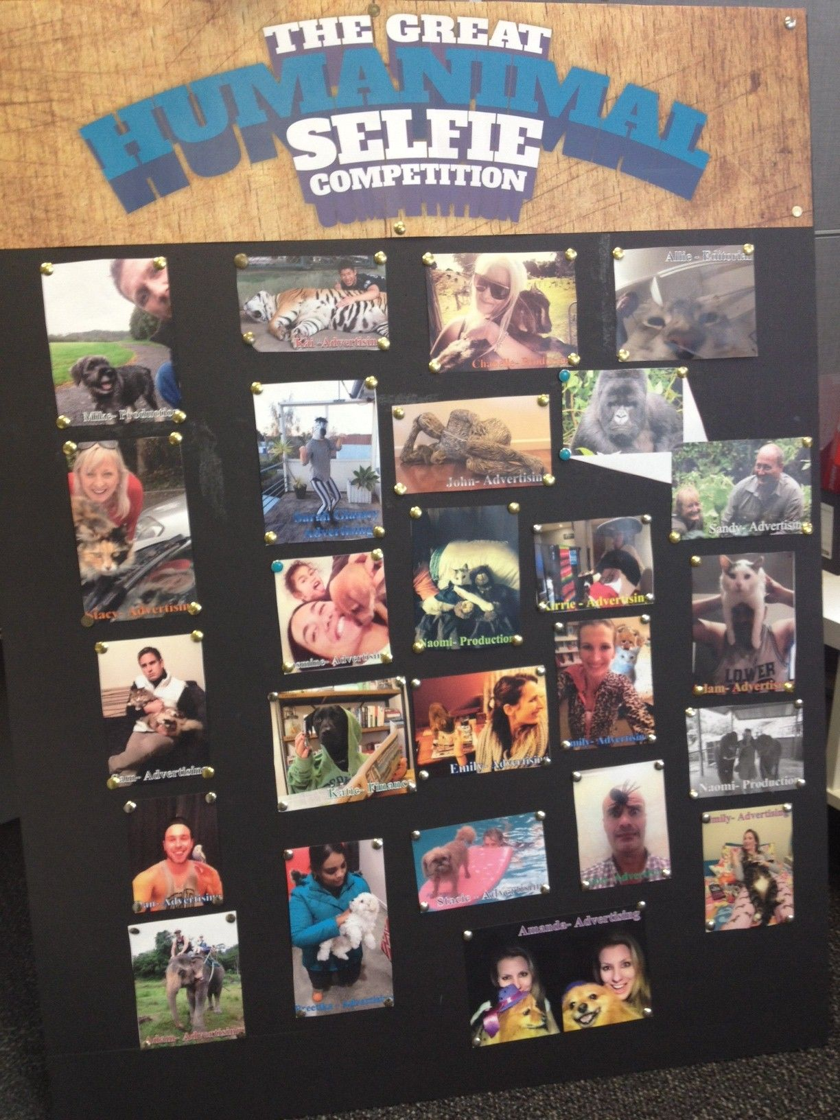 #APN Humanimal Selfie Comp for #SPCA