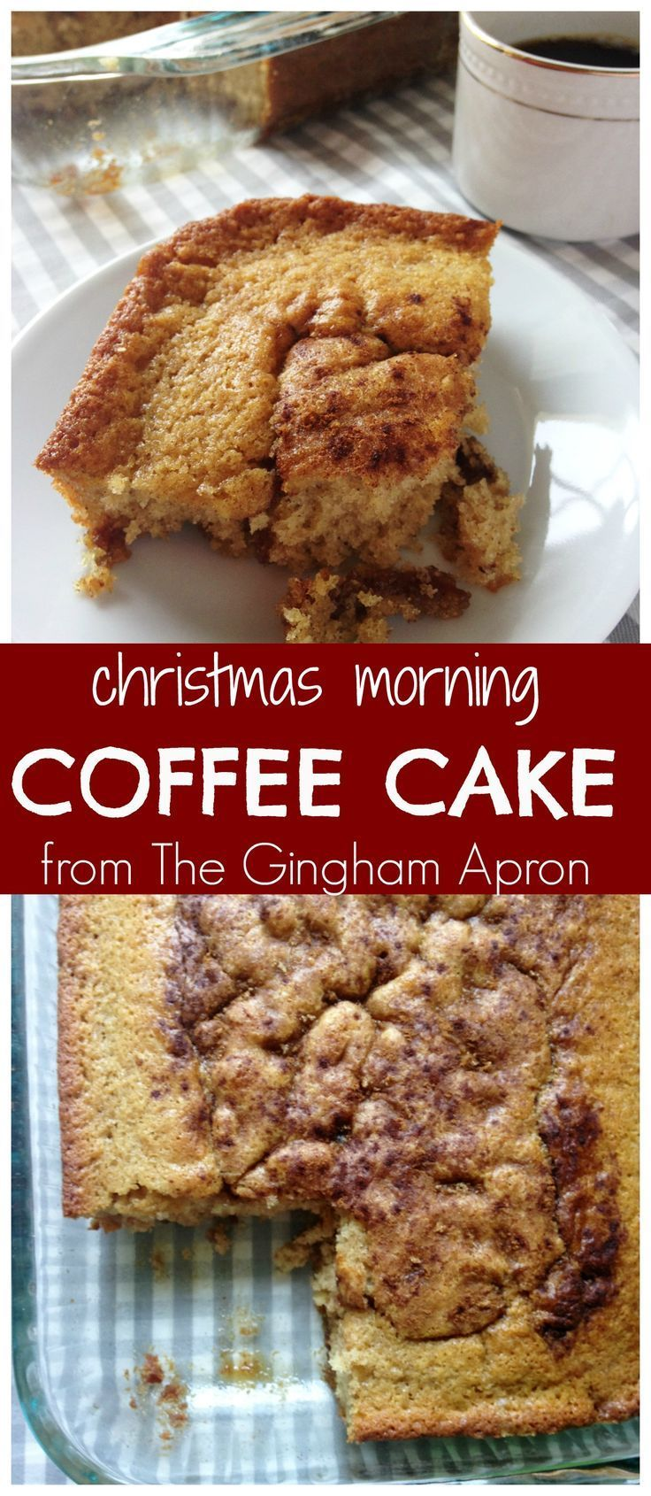 Overnight Coffee Cake And A Stained Recipe Card Recipe