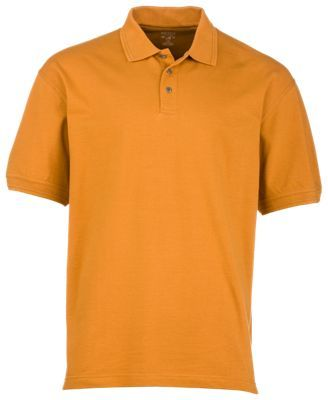 Efficient Red Head Mens Xl Short Sleeve Orange Polo Shirt Men's Clothing
