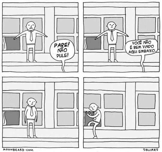 Como lidar com um suicída.