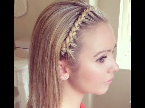 The Headband Braid by SweetHearts Hair Design - YouTube  be640d55f29