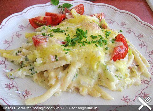 Makkaroni - Käse - Auflauf
