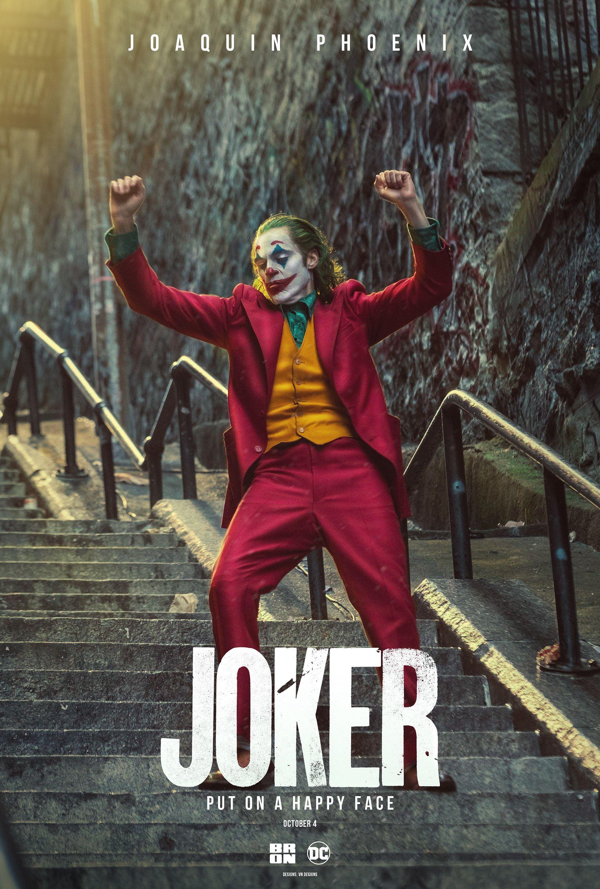 Jocker Film Unofficial Poster Designs On Behance Joker Poster Joker Images Joker Comic