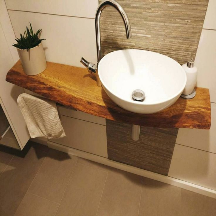 Badezimmer Waschbecken Mit Unterschrank Kleines Waschtisch Und Diy
