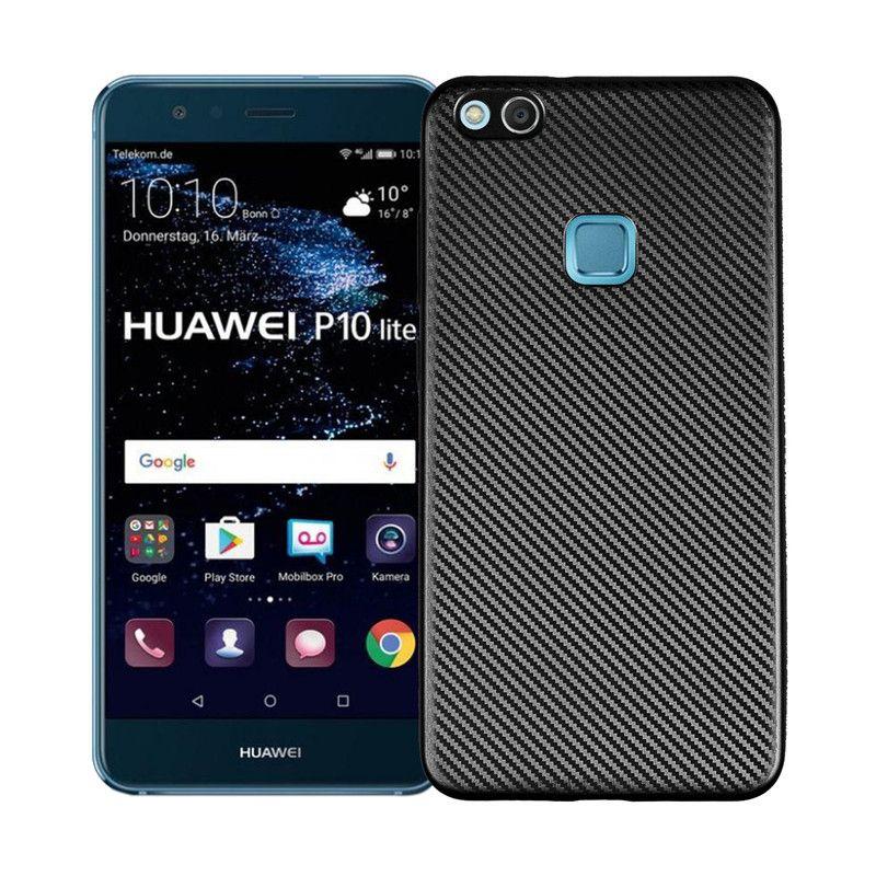 US $2.72] subin For huawei p10 lite Carbon Fiber Soft Light thin ...