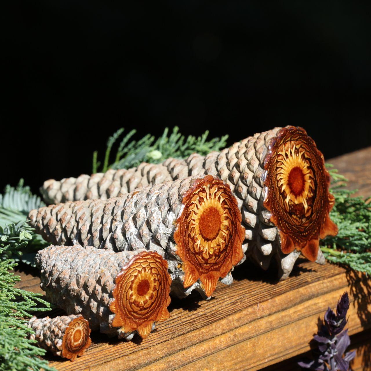 Photo of Knob Cone Pinecone Altar Pieces