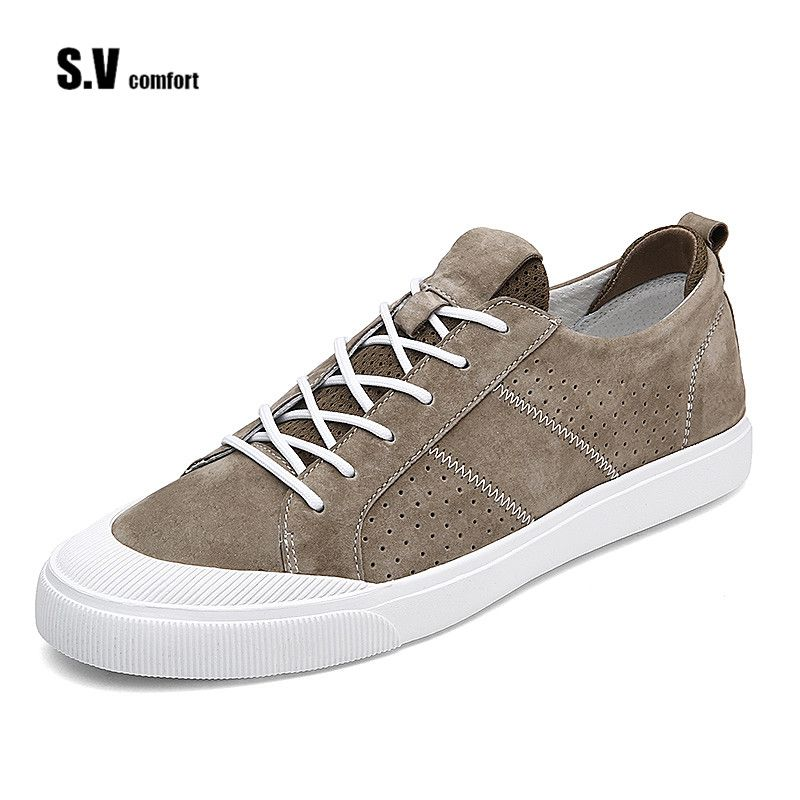 Click to Buy << 2017 Men Fashion Shoes Casual Lace Up Color ...