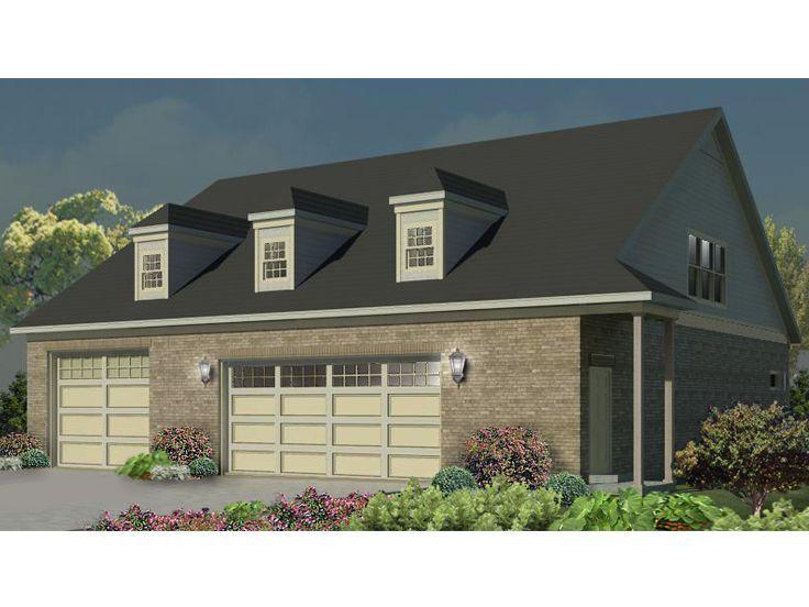 006g 0112 3 Car Garage Plan Includes Car Wash Bay And Room For Car Lift With Images Garage Workshop Plans Garage Design