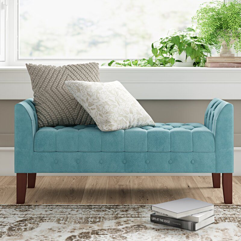 Bardfield Upholstered Storage Bench Reviews Birch Lane Upholstered Storage Bench Storage Bench Bedroom Upholstered Storage