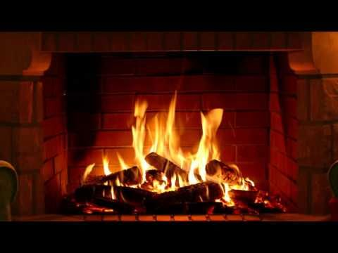 Fireplace Full Hd And 4k 3 Hours Crackling Logs For Christmas