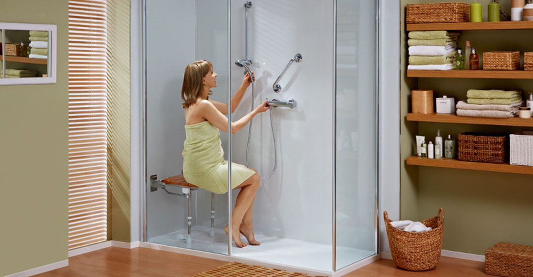 Small Bathroom Disabled Shower Enclosures Google Search