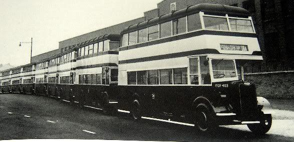 Guy Arabs Birmingham Yardley Wood Bus Garage 70th Birthday 2008