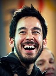 Mike Shinoda lovely spontaneous smile ❤❤❤