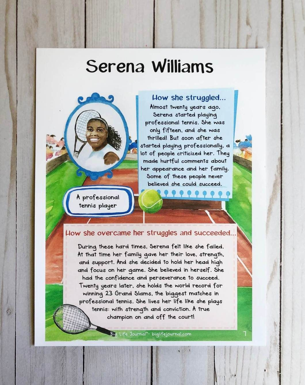A Printable Set Of Worksheets Highlighting Famous People