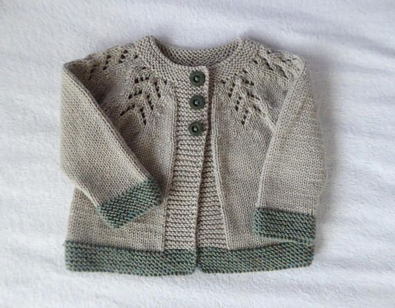 Knitted Cardigan Baby Unisex Sweaters