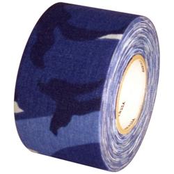 Camo Blue Cloth Hockey Stick Tape 2 X 20 Yard Roll Tapeplanet Com Hockey Stick Tape Hockey Stick Hockey Tape