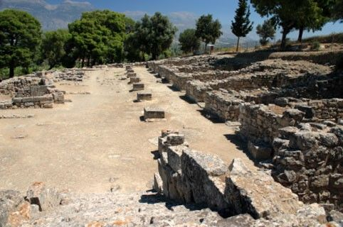 A - Minoan culture, Palace of Phaistos, Crete - Greece