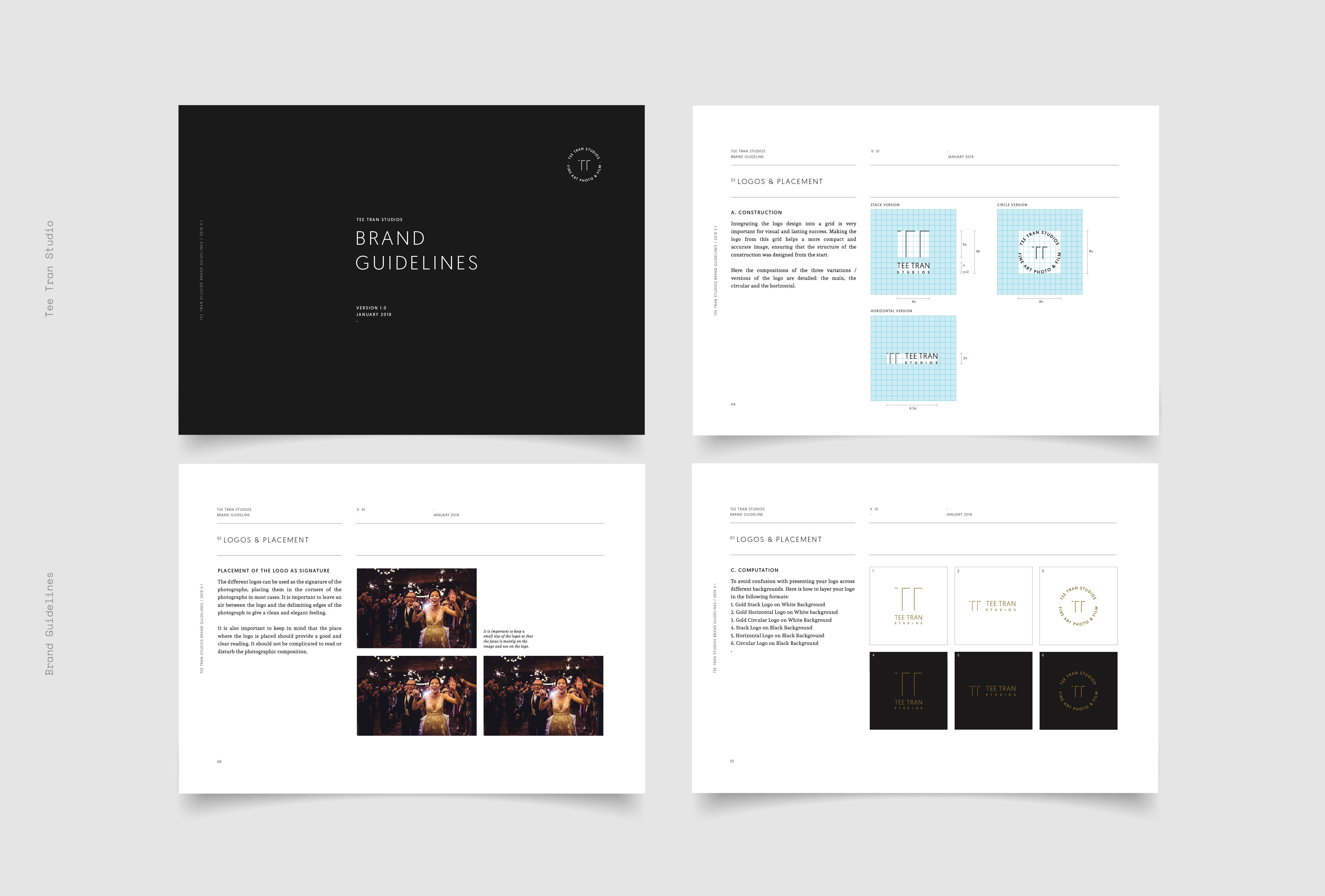 Design A Full Brand Visual Guideline Brand Style Guide Style