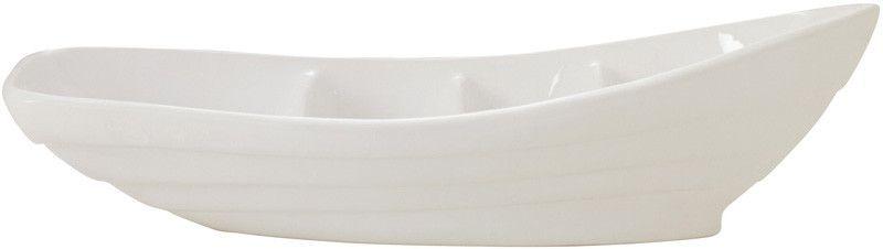 "UMA Inc Cer Boat Dish 23""W, 6""H"