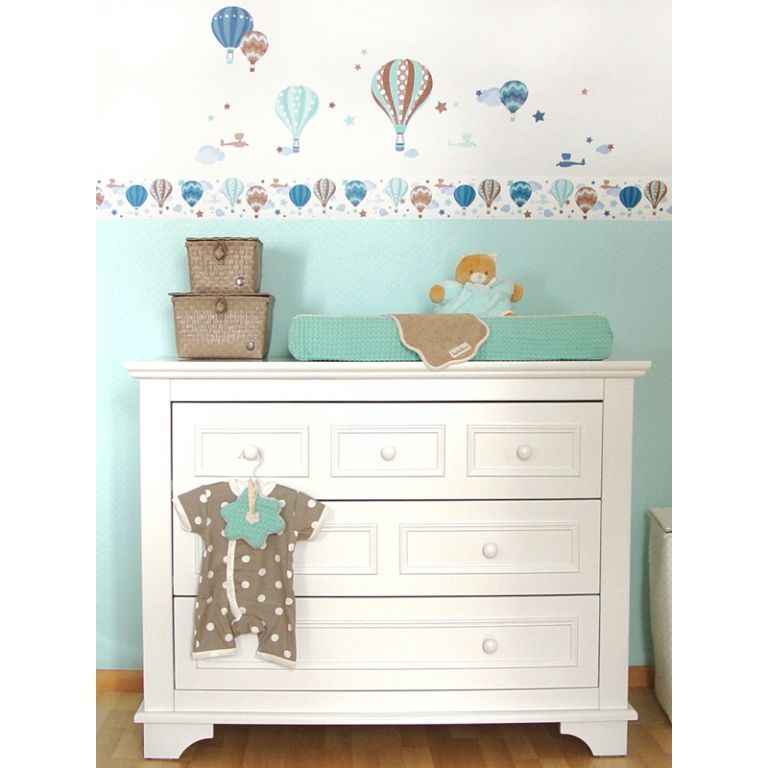 dinki balloon kinder bord re hei luftballons mint taupe. Black Bedroom Furniture Sets. Home Design Ideas