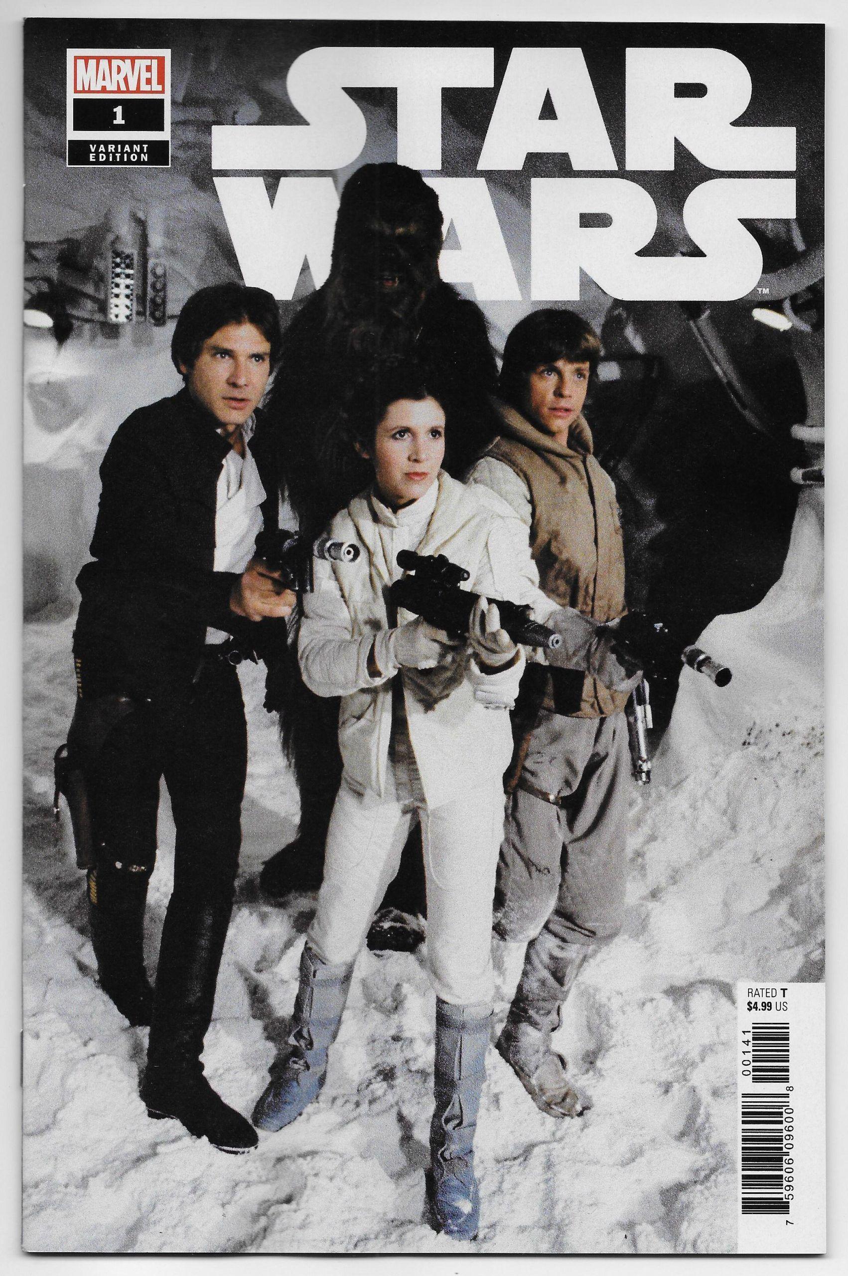 Star Wars #1 Marvel Comics Movie Photo 1:10 Variant