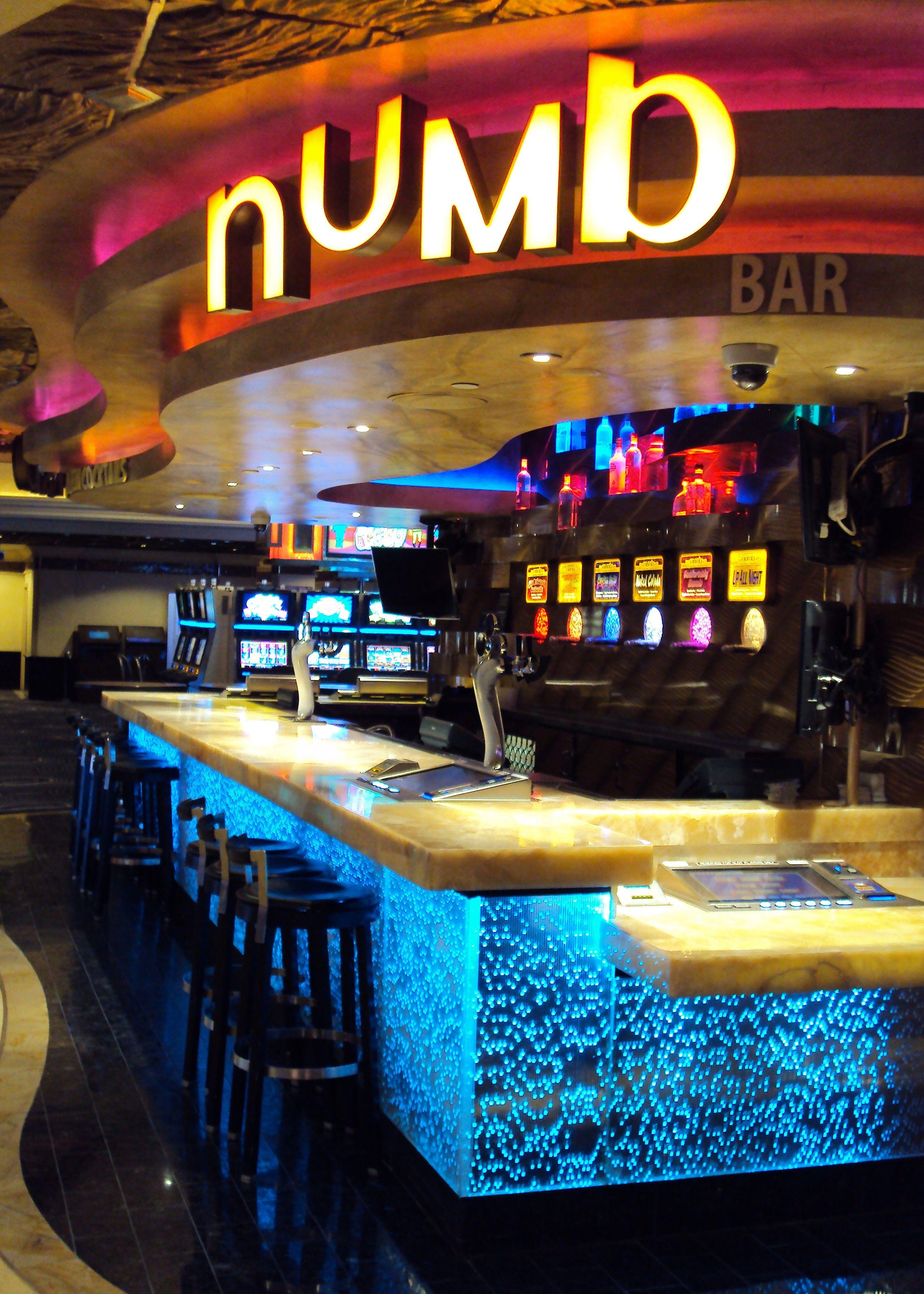 numb bar at Harrah\'s Casino Las Vegas | Sensitile Systems® Lumina ...
