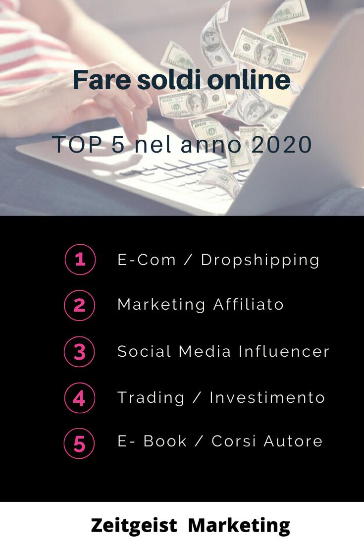 migliori modi per fare soldi online)