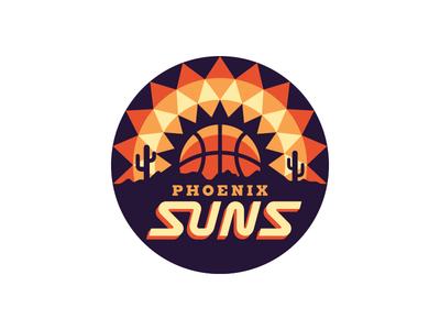 Nba Logo Redesigns Phoenix Suns Logo Redesign Phoenix Suns Sports Logo Design