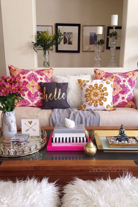 Livingroom #pillows #color  The Perfect House  Pinterest Alluring Fun Living Room Ideas Inspiration