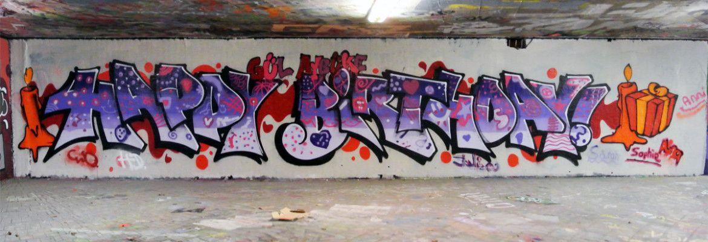 Graffiti Stuttgart Graffiti Kids Birthday Workshop Happy Birthday