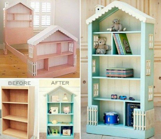 Dollhouse Bookcase Diy: How To DIY DollHouse Bookcase