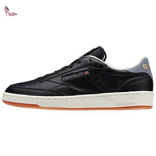 REEBOK - Baskets basses - Homme - Club C 85 Retro Gum noir pour homme -