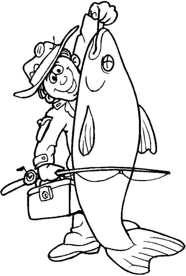 сначала картинки для раскраски рыбалка сможет приготовить любая