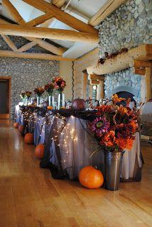 Wishahmon Wedding Creations Pumpkin Themed Wedding Halloween