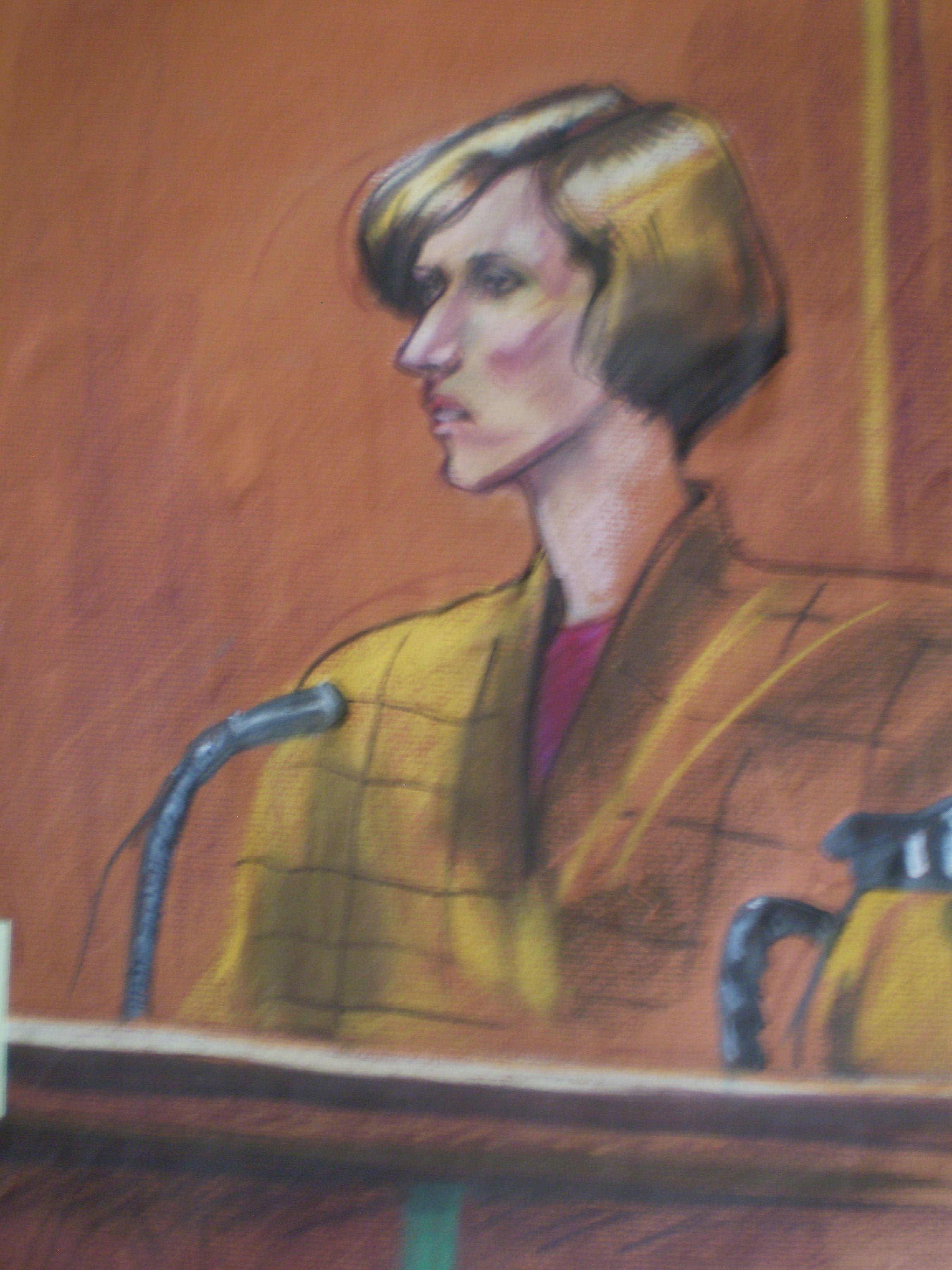 Courtroom illustration by wkbradley courtroom sketch