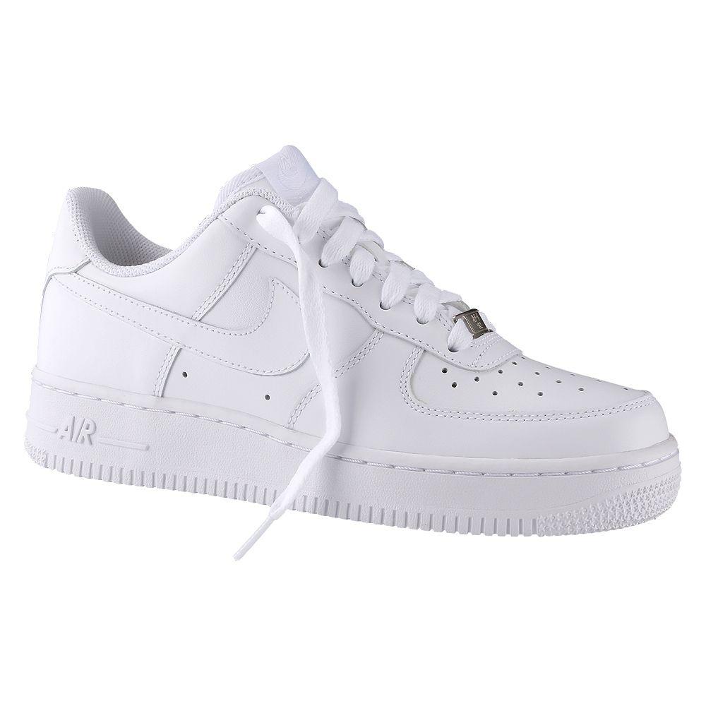 Tênis Nike Air Force 1 07 Feminino - Cabedal monocromático 754767788d1b7